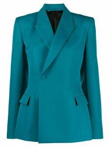 Balenciaga sculpted boxy blazer - Blue